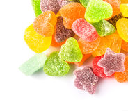 Pile Of Colorful Sugar Jelly Candy IX Royalty Free Stock Photos