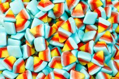 Pile of colorful sweets Stock Images