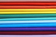 Pile of colorful t-shirts, close up. View Stock Images