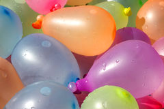 Pile of Colorful Water Balloons Royalty Free Stock Images