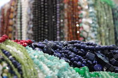Pile of colourful beads Royalty Free Stock Image