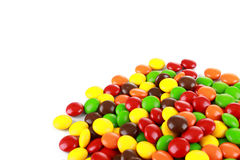 A pile of colourful candies Royalty Free Stock Images