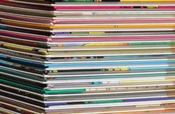 Pile of comics Stock Photos