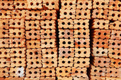 Pile of construction bricks for pattern and background. It is pile of construction bricks for pattern and background royalty free stock image