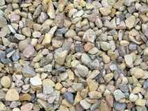 Pile of construction gravel background Stock Image