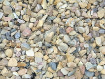 Pile of construction gravel texture Stock Photography