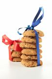 Pile of cookies Stock Images