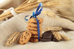 Pile of cookies Stock Photo