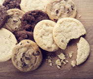 Pile of Cookies Royalty Free Stock Image