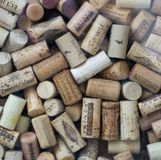 Pile of cork stoppers Stock Photography