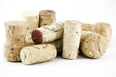 Pile of corks Royalty Free Stock Photography
