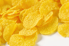 Pile of corn flakes Stock Image