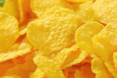 Pile of corn flakes Stock Images
