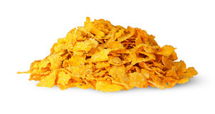 Pile of corn flakes Stock Photography