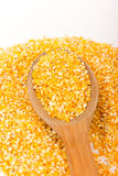 Pile of Corn Grits Stock Photos