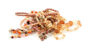 Pile of costume jewelry Royalty Free Stock Image