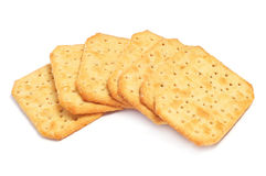 A pile of crackers Royalty Free Stock Photography