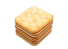 Pile of crackers Royalty Free Stock Image