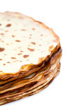 Pile of crepes stock photo