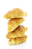 A pile of croissant Royalty Free Stock Photography