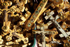 Crosses Background Royalty Free Stock Image