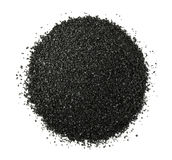 Pile of crushed anthracite Royalty Free Stock Photography