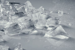 Pile of crushed   ice Stock Images