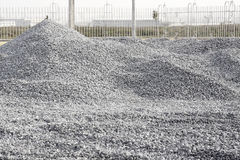 Pile Crushed stone Stock Photos