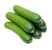 A pile of cucumber Royalty Free Stock Image