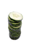 Pile of Cucumber Slices Royalty Free Stock Photo