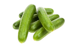 Pile of cucumbers Royalty Free Stock Photo
