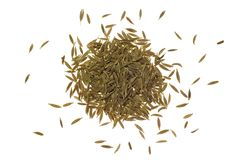 Pile of cumin seeds Stock Photo