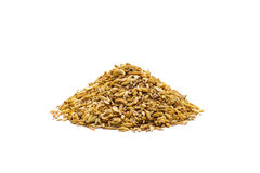 Pile of cumin seeds Royalty Free Stock Photography