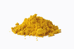 Pile of curry Royalty Free Stock Image