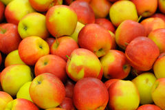 Pile délicieuse des pommes Photos stock