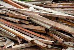 Pile d'acier Image libre de droits
