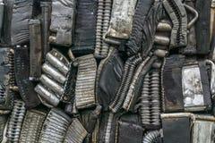 Pile d'aluminium des pièces de voiture Image libre de droits