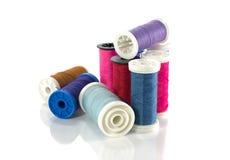 Pile d'amorçage de couture coloré Photographie stock libre de droits