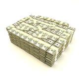 Pile d'argent Photo libre de droits