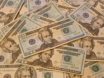 Pile d'argent Images libres de droits