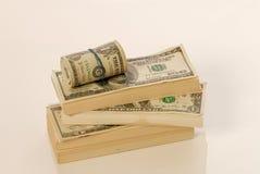 Pile d'argent images stock