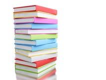 pile 3d colorée de livres Photo stock