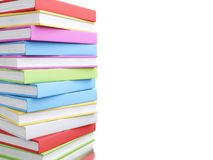 pile 3d colorée de livres Photos libres de droits