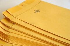 Pile d'enveloppes Photo libre de droits