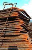 Pile d'induit rouillé photo libre de droits