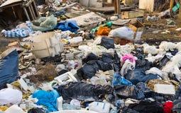 Pile d'ordures photo libre de droits