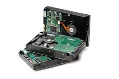 Pile d'unités de disque dur Photo stock