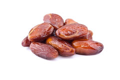 Pile of dates fruit Royalty Free Stock Photos