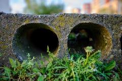 Pile de béton armé préfabriqué photo libre de droits