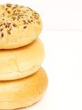 Pile de bagel Images libres de droits
